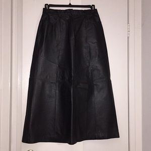 Bagatelle - genuine leather skirt